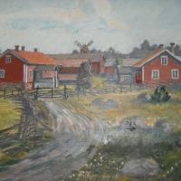 Målning på Enigheten