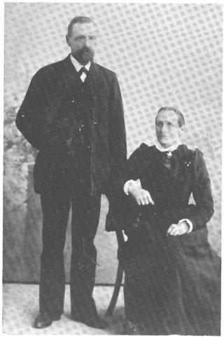 Sista gästgivarparet på Enigheten Gustaf Erik och Amanda Heli
